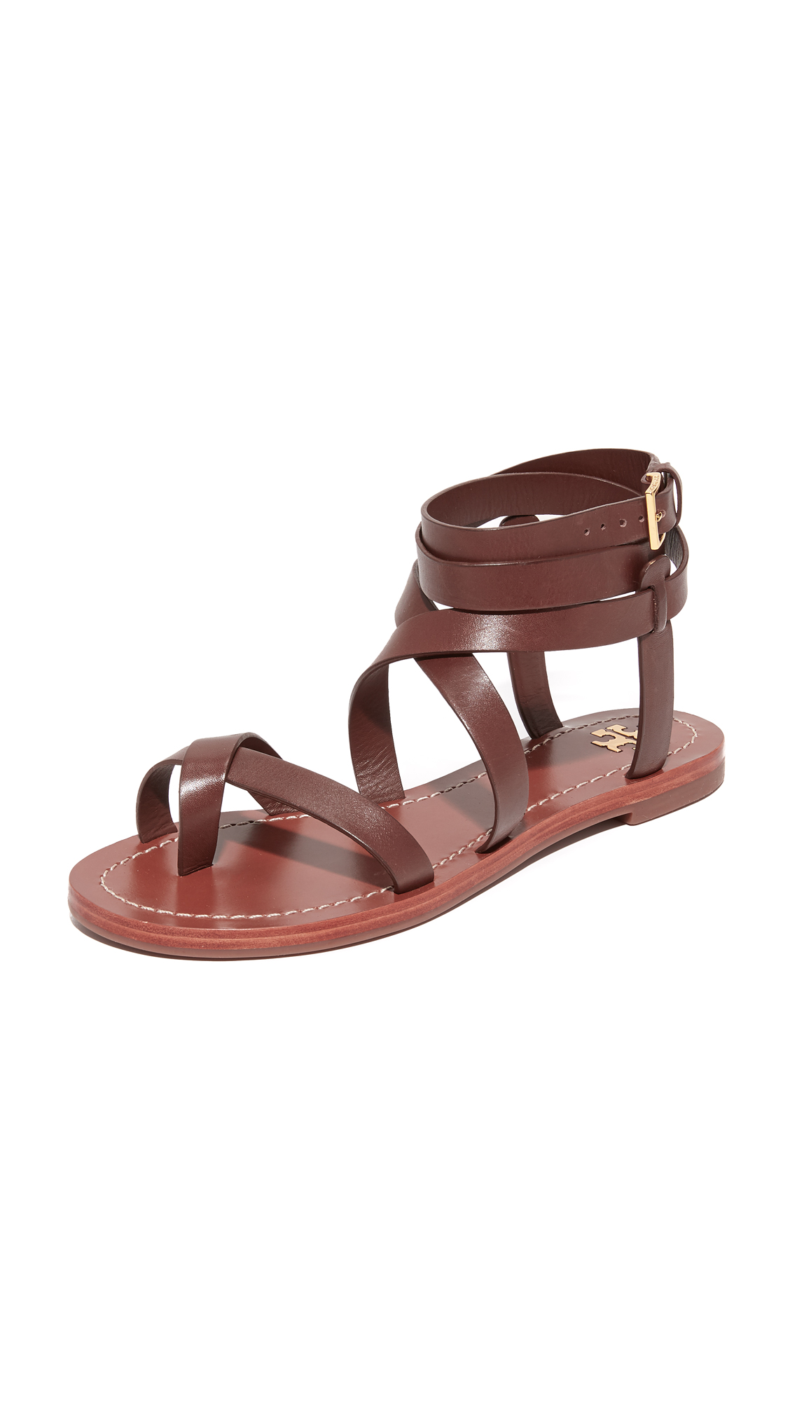 f1bd05a42366 Tory Burch Patos Sandals In Americano