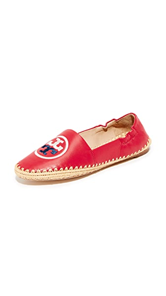 Tory Burch Darien Loafers - Nantucket Red/White/Navy Sea
