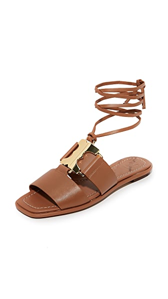 Tory Burch Gemini Link Lace Up Sandals