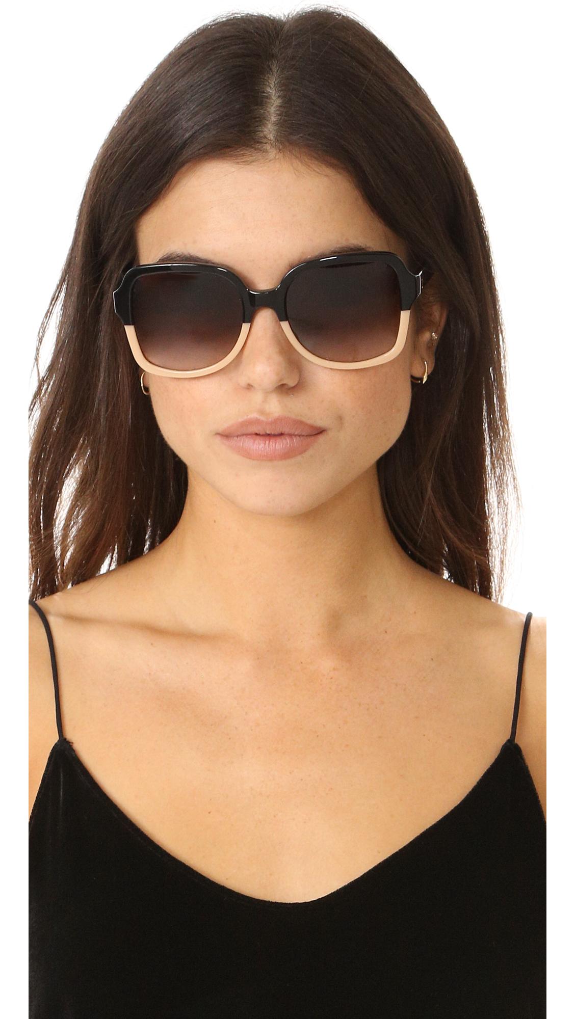e8a43efede9 Tory Burch Panama Sunglasses