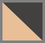 Black Cream/Brown Gradient
