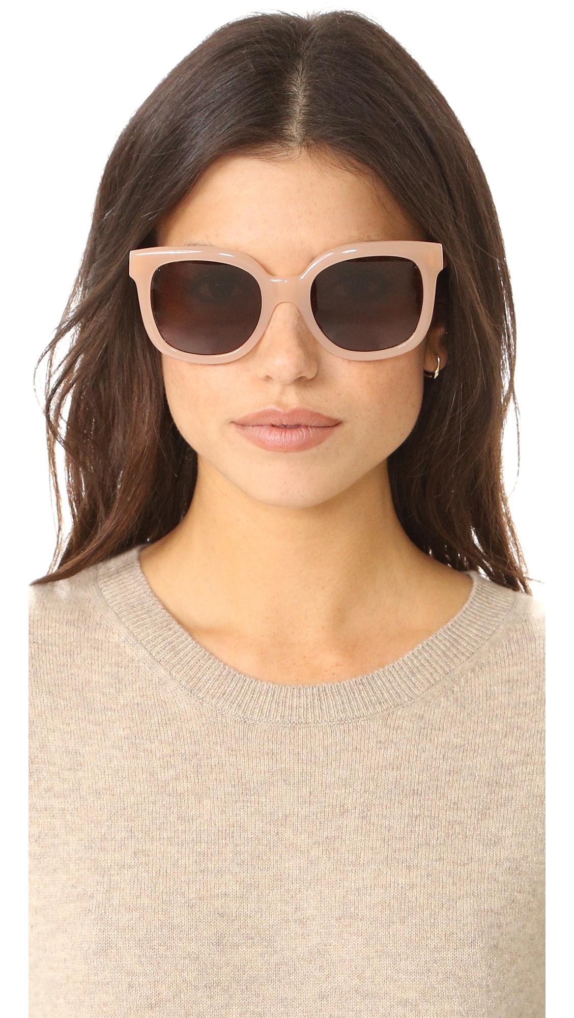 0b89ff48d5 Tory Burch Square Sunglasses