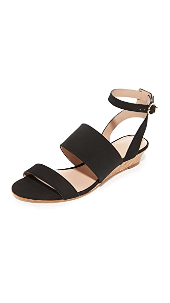 Tory Burch North Wedge Sandals - Black