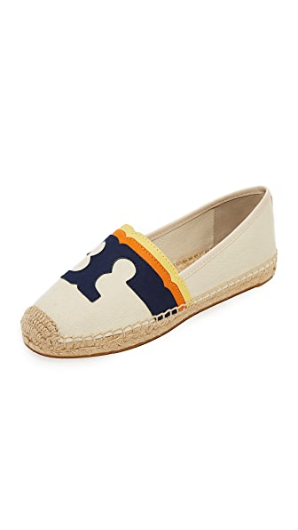 Tory Burch Laguna Flat Espadrilles - Natural/Multi