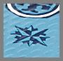 прибрежный синий компас/темно-синий