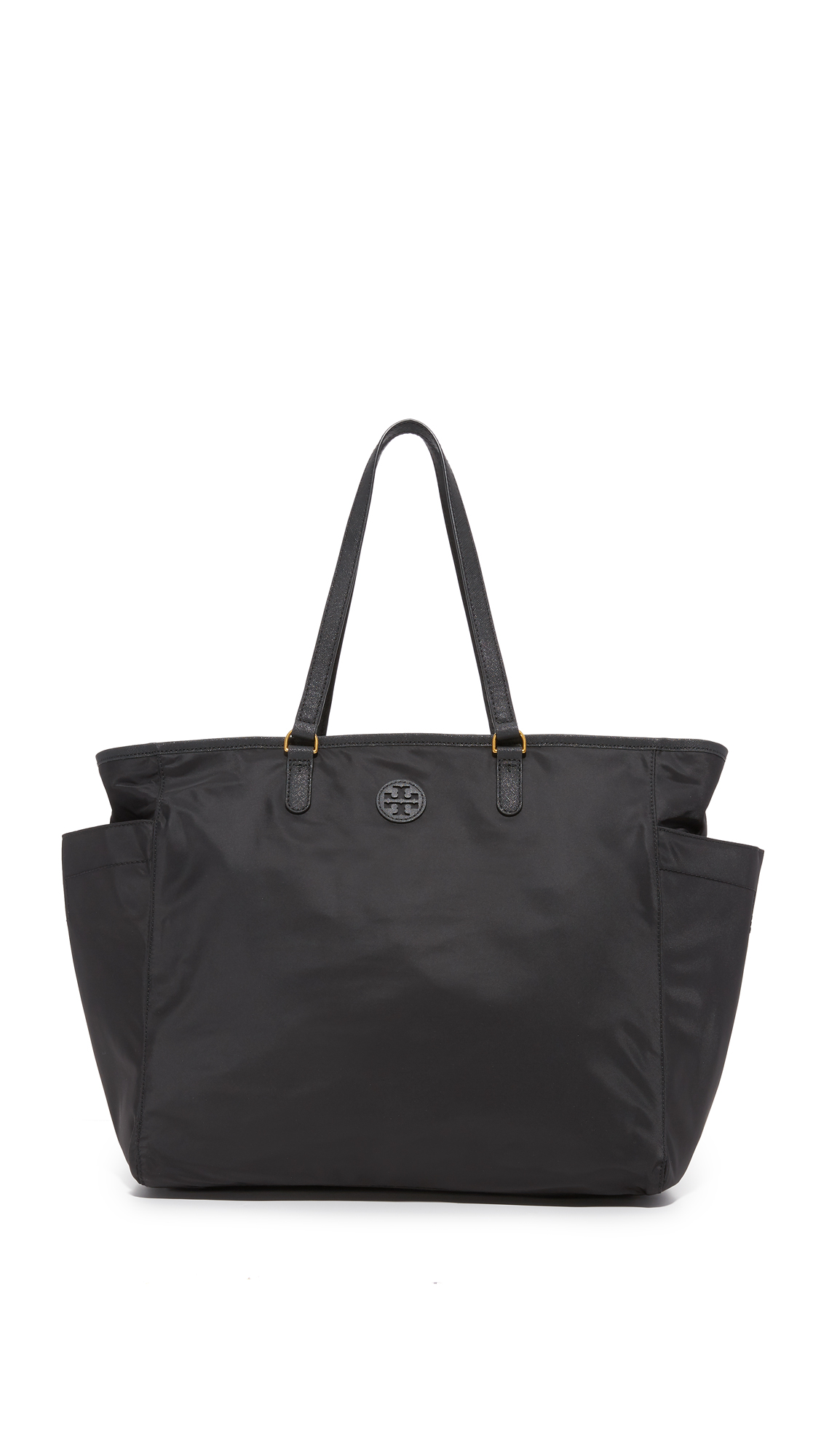tory burch female tory burch scout nylon baby bag tote black