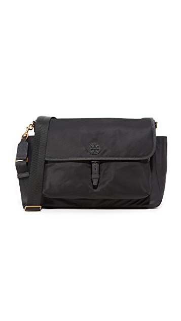 Tory Burch Scout Nylon Messenger Baby Bag