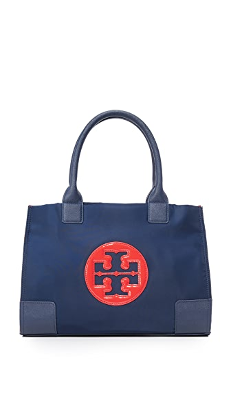 Tory Burch Nylon Mini Ella Color Block Tote
