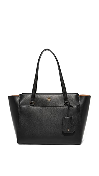 Tory Burch Parker Small Tote - Black