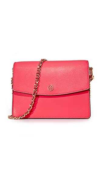 Tory Burch Parker Convertible Shoulder Bag - Red Ginger