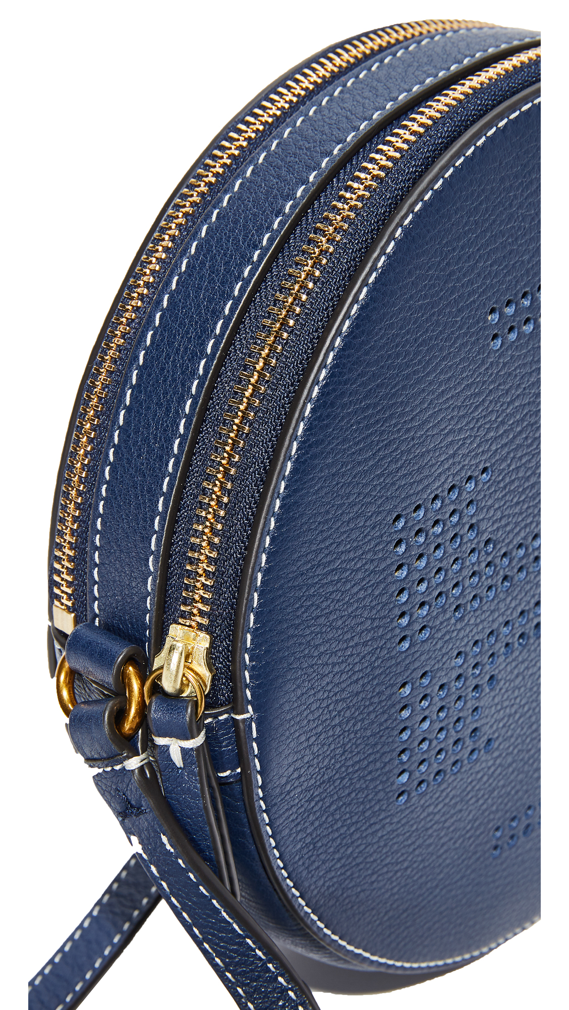 d73da915e Tory Burch Perforated Logo Cross Body Bag