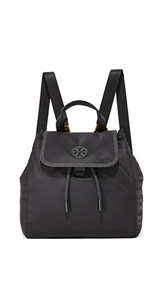 Tory Burch Scout Nylon Small Backpack - Black