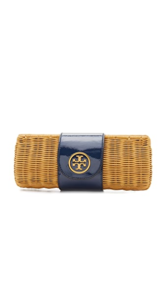 Tory Burch Wicker Clutch
