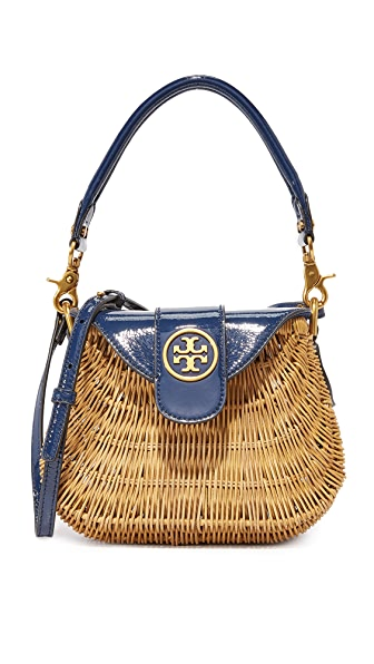 Rattan Straw Cabas Bag