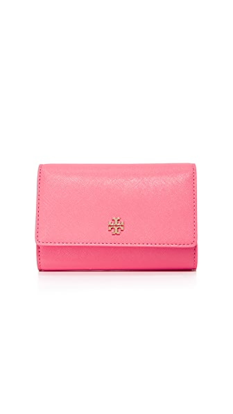 Tory Burch Robinson Medium Flap Wallet - Cosmo
