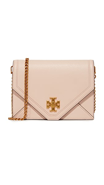 Tory Burch Kira Cross Body Bag - Light Oak