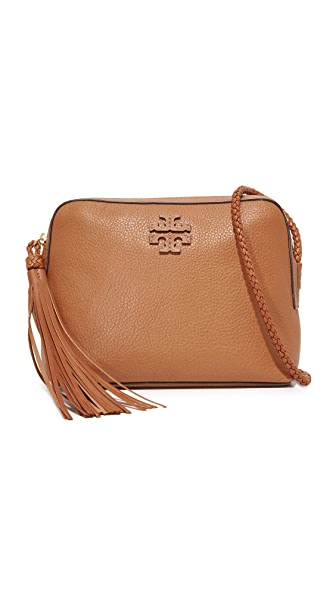 Tory Burch Taylor Camera Bag - Saddle