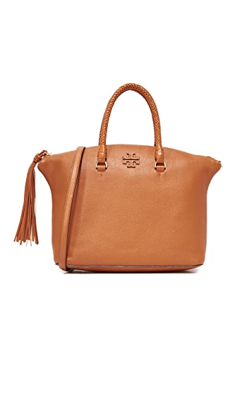 Tory Burch Taylor Satchel - Saddle