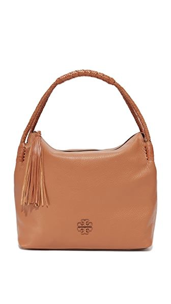 Tory Burch Taylor Hobo Bag - Saddle