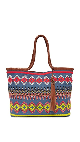 Tory Burch Taylor Embroidered Tote