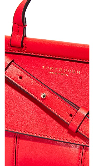 Tory Burch Block T Mini Top Handle Bag
