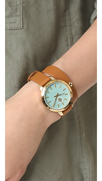 Tory Burch The Collins Leather Watch