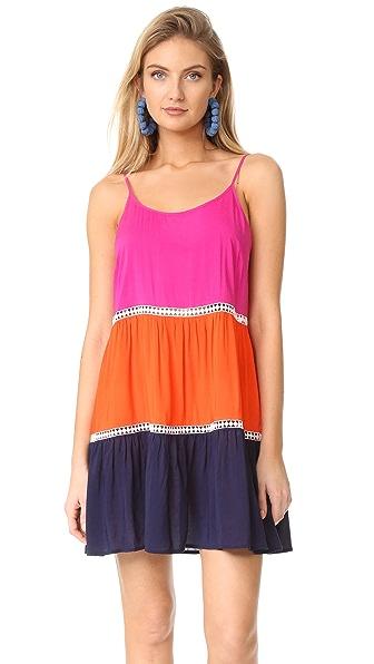 Tory Burch Платье с цветными блоками