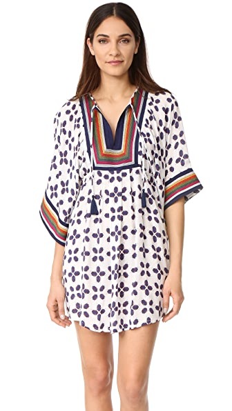 Tory Burch Feliz Embroidered Tunic