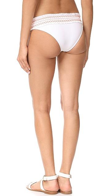 Tory Burch Costa Hipster Bikini Bottoms