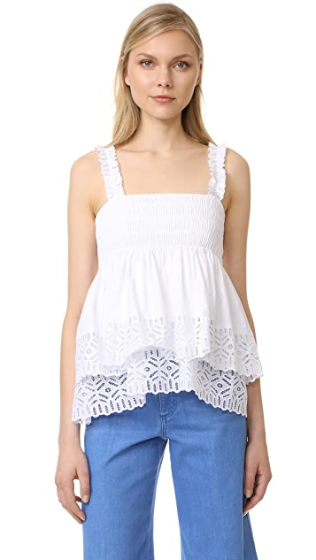 Tory Burch Georgette Top