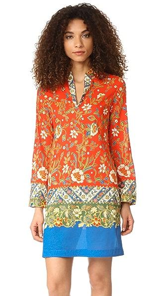 Tory Burch Stephanie Tunic Dress - Batik Floral