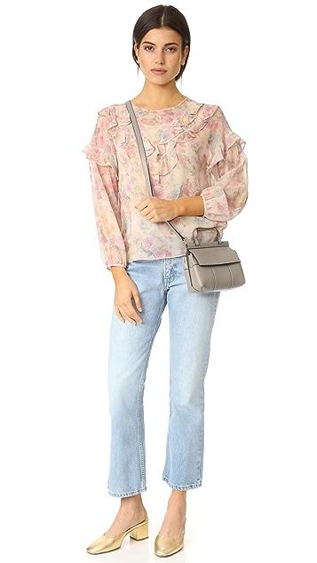 Tory Burch Block T Mini Top Handle Bag