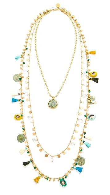 Tory Burch Tassel Layering Necklace