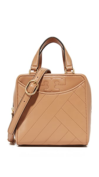 Tory Burch Alexa Mini Satchel - Warm Tan