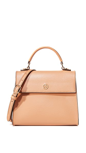 Tory Burch Parker Small Top Handle Satchel - Cardamom