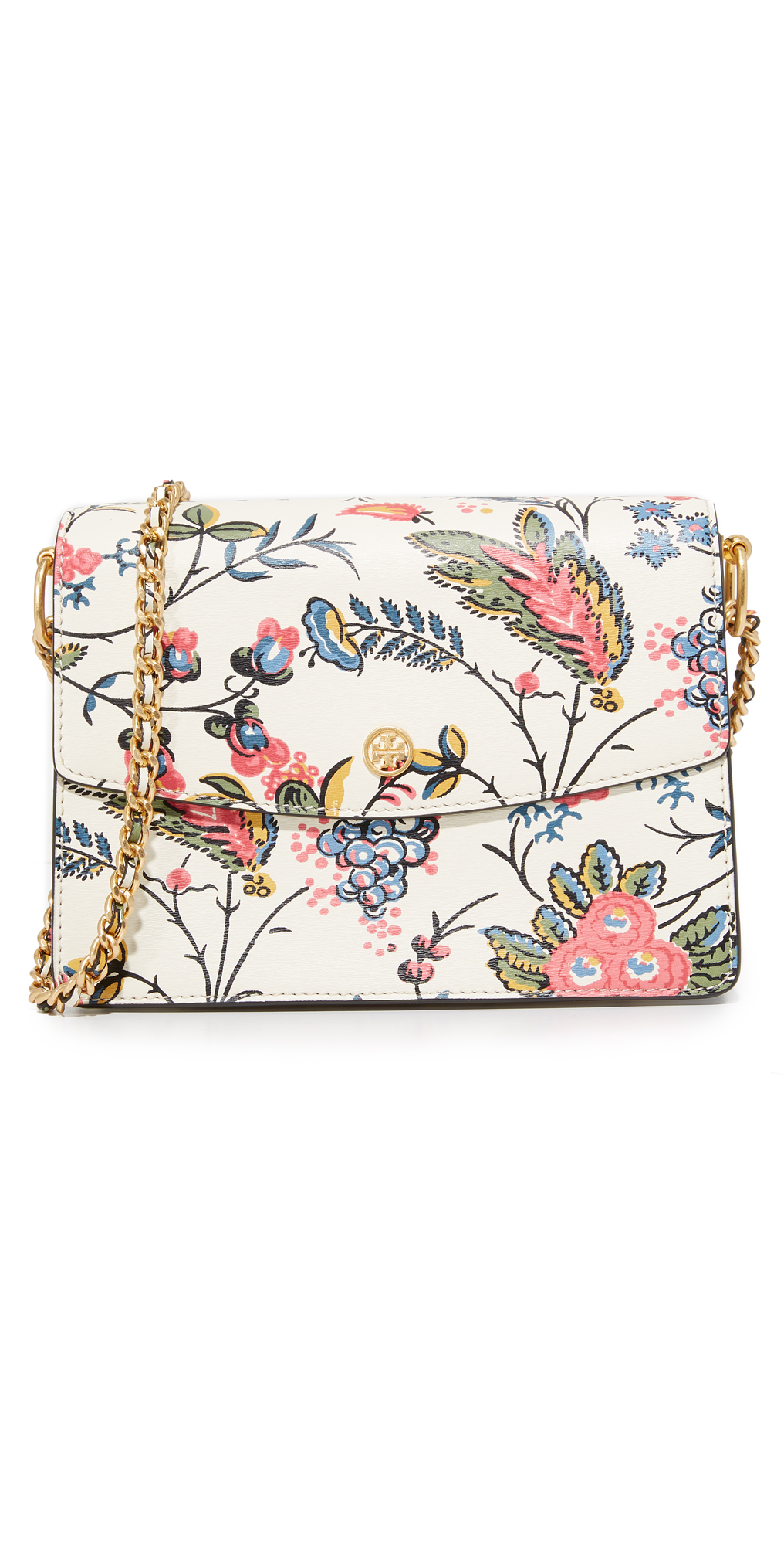 Floral Parker Shoulder Bag Tory Burch