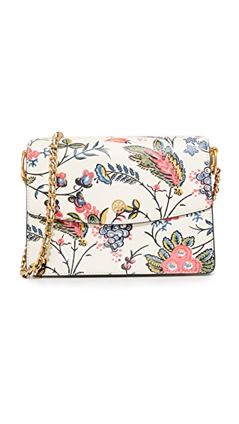 Tory Burch Floral Parker Shoulder Bag