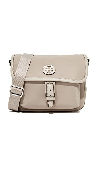 Tory Burch Scout Nylon Cross Body Bag - French Gray