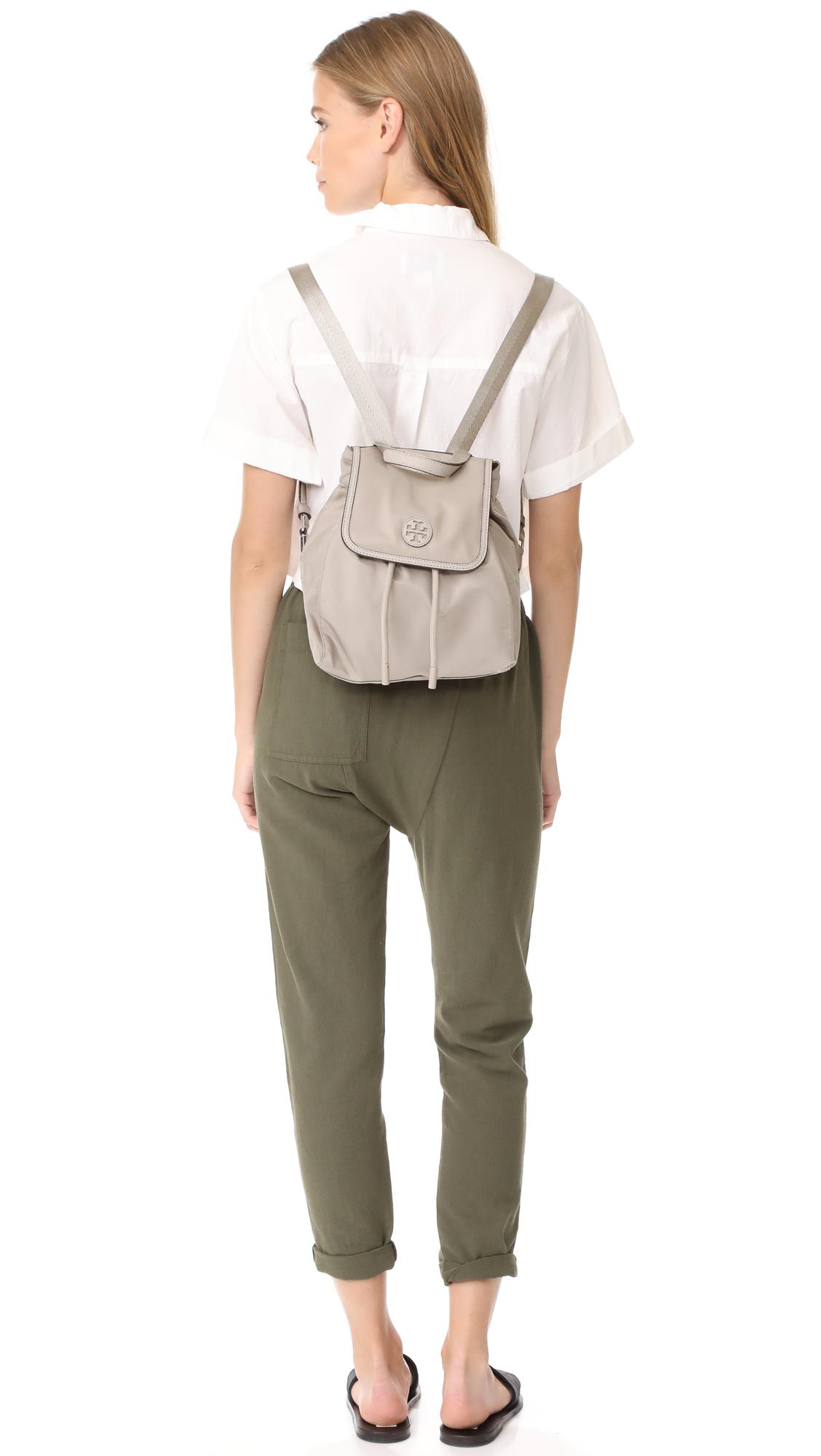 b030c85bb2a Tory Burch Scout Nylon Small Backpack
