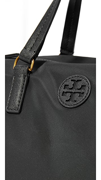 Tory Burch Scout Nylon Slouchy Satchel