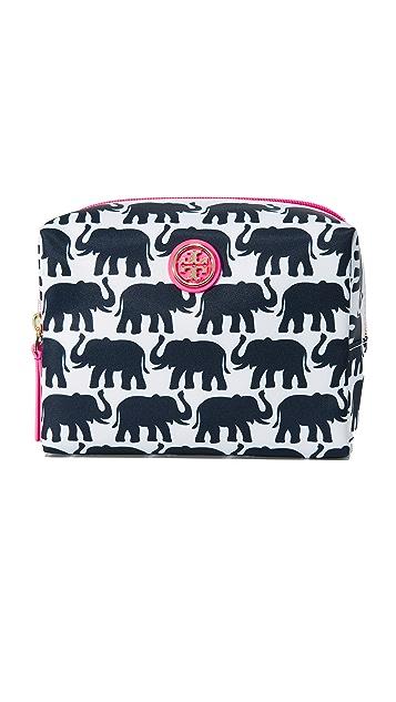 Tory Burch Elephant Brigitte Cosmetic Case