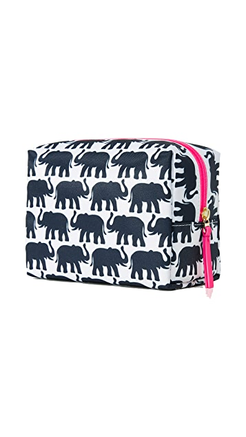 Tory Burch Elephant Brigitte Cosmetic Case