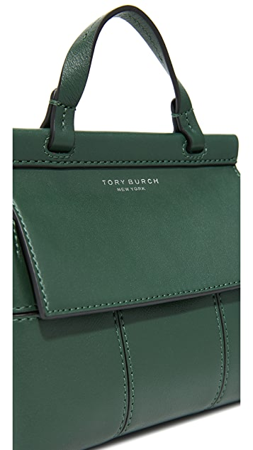 Tory Burch Block T Mini Top Handle Satchel