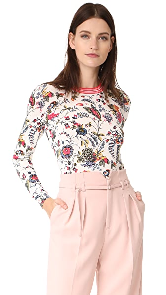 Tory Burch Noelle Sweater - Gabriella Floral