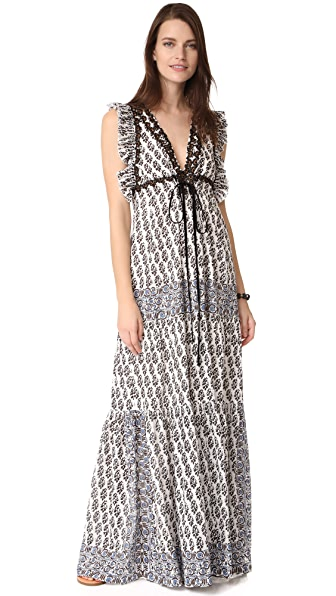 Tory Burch Amita Dress - Ivory