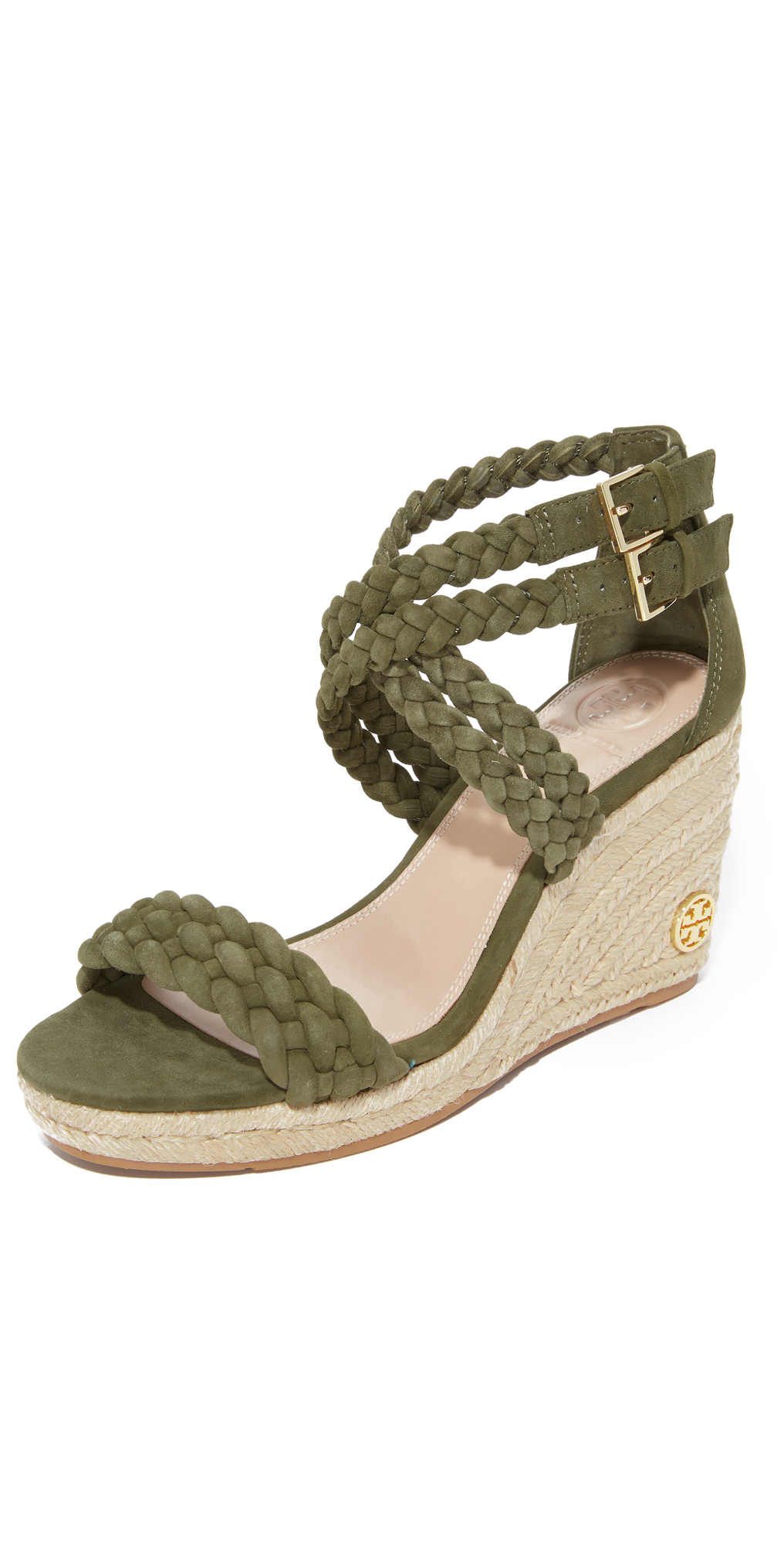 Bailey 90mm Ankle Strap Wedge Espadrilles Tory Burch