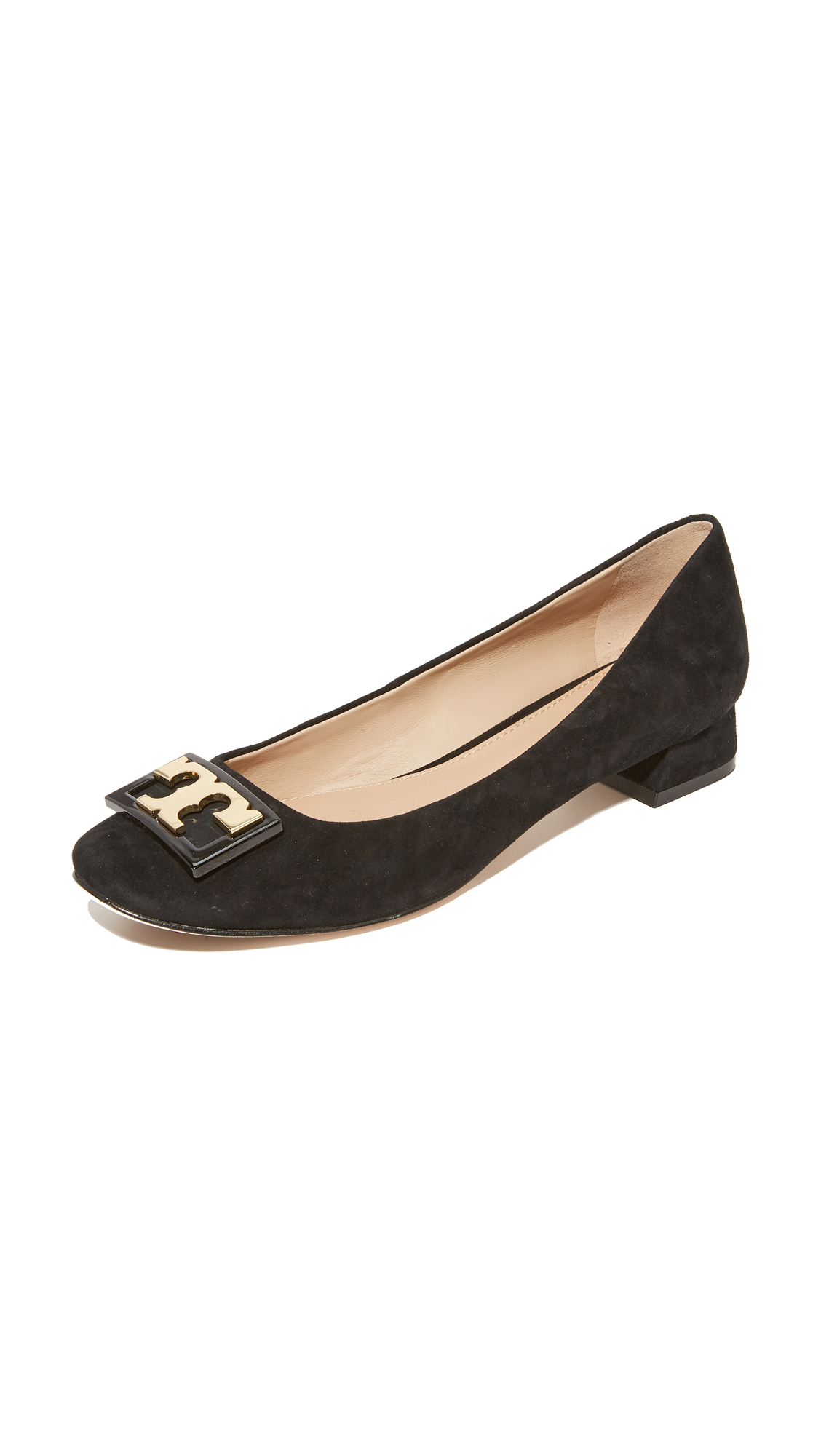 Tory Burch Gigi Suede Pumps - Black