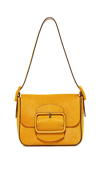 Tory Burch Sawyer Haircalf Small Shoulder Bag