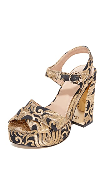 Tory Burch Loretta 115mm Platform Sandals
