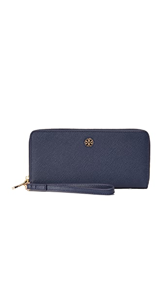 Tory Burch Perry Zip Passport Continental Wallet
